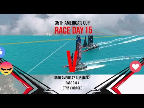 35th America's Cup Match: Races 3 & 4 Favourite moments