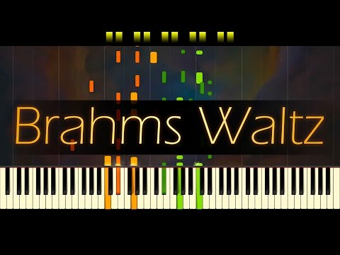 Waltz in A-flat major, Op. 39 No. 15 // BRAHMS