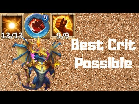 Zephyrica | True Best Setup | Crit Master | Castle Clash
