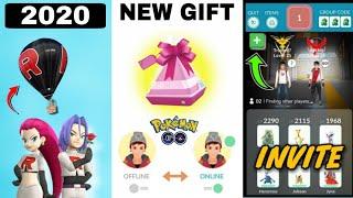 Raid invite in pokemon go || Team go rocket balloon new update |