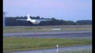 Luxembourg Airport Takeoffs and Landings 01.08.2009