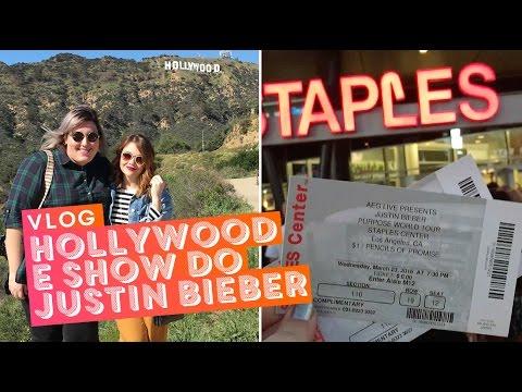 Vlog Los Angeles: letreiro de Hollywood e show do Justin Bieber!!!! • Karol Pinheiro
