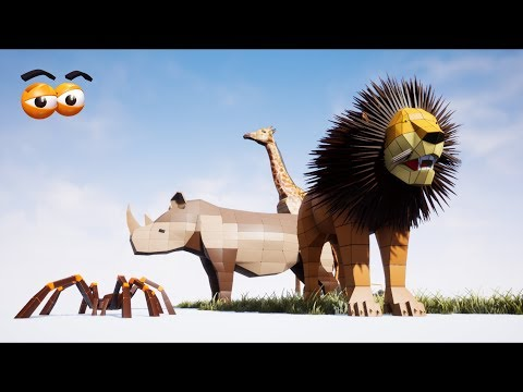 CUBE BUILDER for KIDS (HD) - Learn & Build Various Animals for Children 1 - AApV