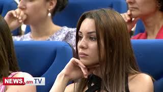 Նախագահը պետական պարգևներ հանձնեց Հայ ռուսական համալսարանում