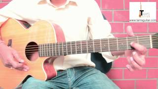 3 chords hindi songs  guitar lesson for absolute beginners-Maula sun le re (www.tamsguitar.com)