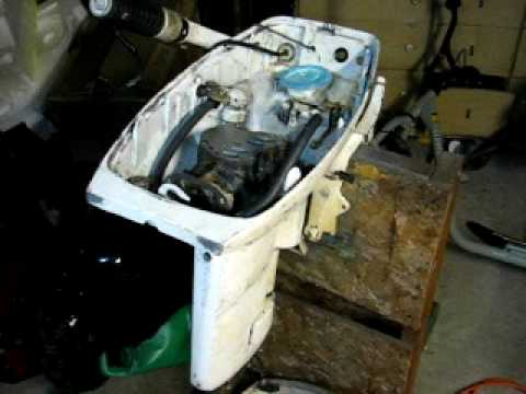 how to open seized evinrude 25