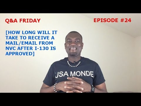 Q A Friday Ep 24 How Long Will It Take To Receive Mail Or Email From Nvc Youtube