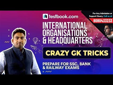 5 Crazy GK Tricks to Remember International Organisation & Headquarters for All Exams | Static GK