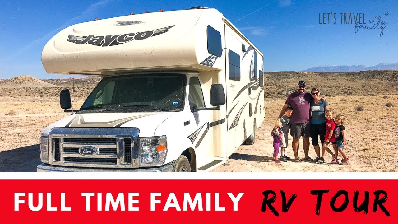 Living In A Motorhome Full Time With 4 Kids - Let's Travel