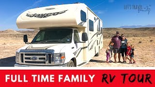 Gambar cover Full Time Family RV Tour - Family of 6 in a 33-foot RV!