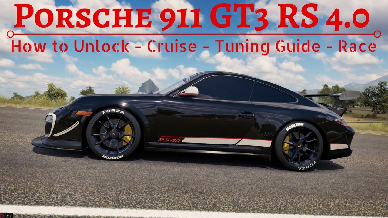 Forza Horizon 3 : 2012 Porsche 911 GT3 RS 4.0 FORZATHON ...