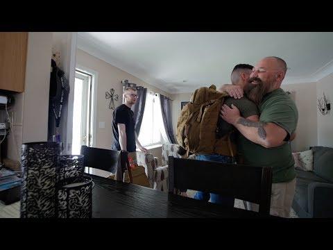Brian's Surprise Visit Home