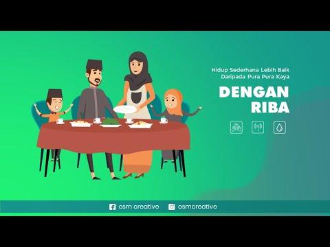 Video Story WA Islami Hidup Sederhana Lebih Baik
