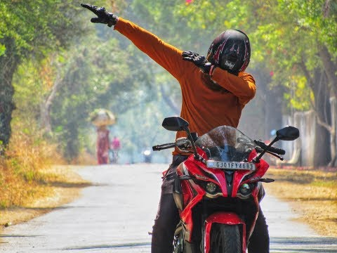 My First Youtube Video || Ahmedabad to Polo Forest Ride On Pulsar RS200 !!!