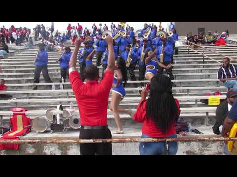 Wilcox Central High School Marching Band | In Stands | At Selma's Battle Of Bands Competition |