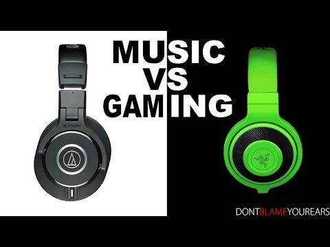 Music VS Gaming Headphone (bahasa Indonesia)