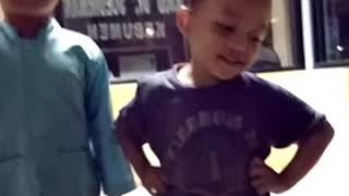 Anak pinter dan cerdas,  sungguh aktif banget