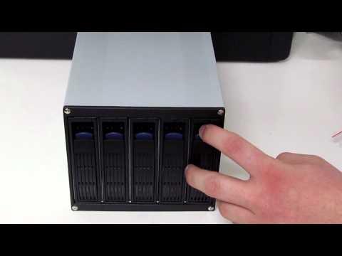 Norco SS-400 4 Bay 3.5 SATA//SAS Hot Swap Rack Module