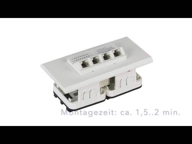 MICROSENS Micro-Switch Einbauset MS140040BR2 (DE Version)