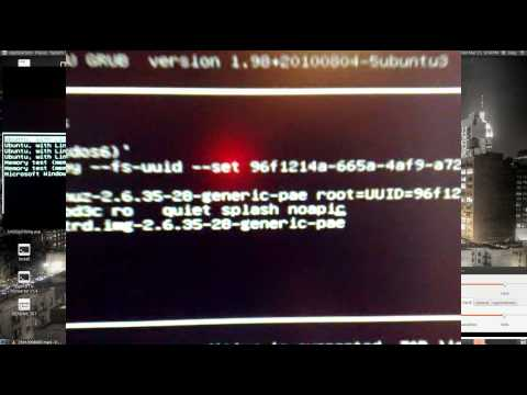 How to SOLVE BOOT PROBLEMS in Ubuntu (kernel panic, noapic, acpi=off etc)