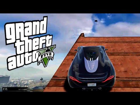 SALTO INCREDIBILE NEL VUOTO!! - GTA 5 (Grand Theft Auto 5)