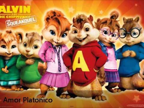 Amor Platonico - Manny Montes feat Alex y Yenza - Alvin y las Ardillas