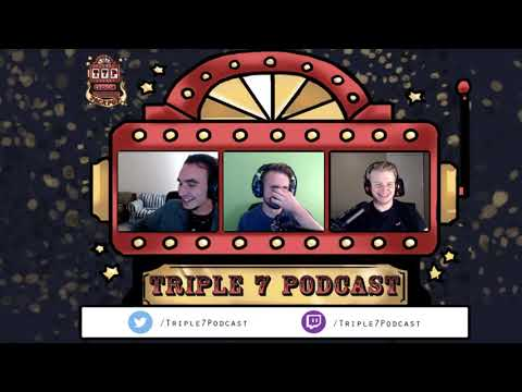 Triple 7 Podcast Episode 2: JeromeASF - Books, TV Shows and Conventions