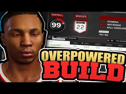 MY ARCHETYPE IS THE BEST BUILD AT THE MyPARK!! BEST OVERPOWERED POINT GUARD BUILD IN NBA 2K18!!