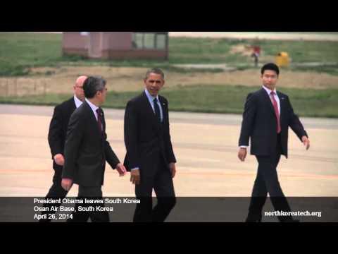 President Obama departs South Korea