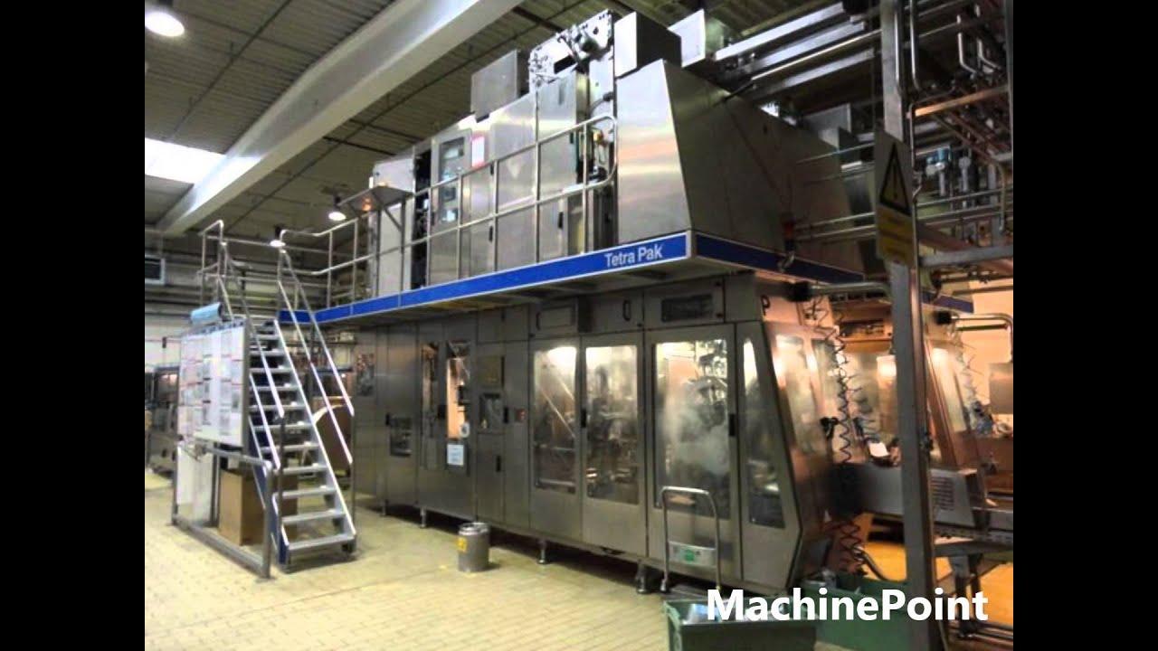 TETRA PAK A3 flex 1000S Second Hand Tetra Pak Filling Line MachinePoint