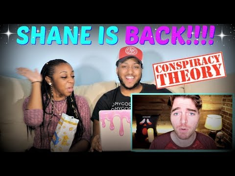 Conspiracy Theories with Shane Dawson PART 1 REACTION!!!