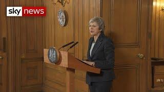 Theresa May tells Sky News