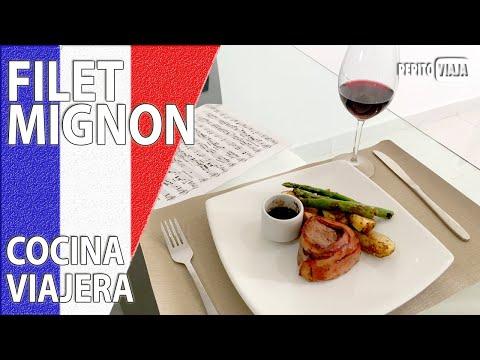 Un delicioso FILET MIGNON 🇫🇷  COCINA VIAJERA | Pepito Viaja