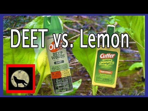 Best Mosquito Repellent - Actual in the field Battle Off with DEET vs. Cutter's Lemon Eucalyptus