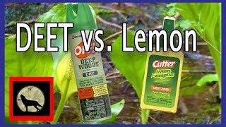 Best Mosquito Repellent - Actual in the field Battle Off with DEET vs. Cutter's Lemon Eucalyptus