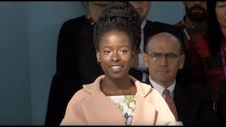 Making Mountains As We Run | Amanda Gorman '20 | Harvard Inauguration of Lawrence S. Bacow