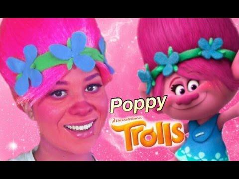 Cute Poppy 1080p Wallpaper Trolls Quot Poppy Quot Makeup Tutorial For Halloween 2016 Youtube