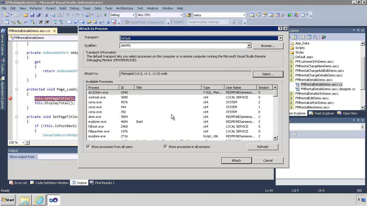 Ax pre requisites to install dynamics ax 2009 and enterprise portal - Microsoft Dynamics Ax Enterprise Portal Debugging