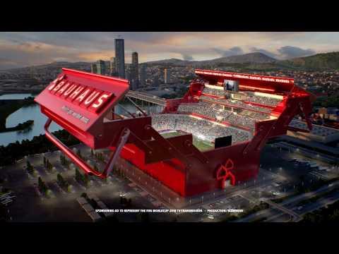 Making of BAUHAUS WM-Arena 2018 Spot - BAUHAUS TV