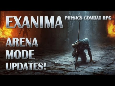 EXANIMA - Arena Updates! - Run a Guild, Buy Gear, Rank Up & Create the Strongest Hobo Army!