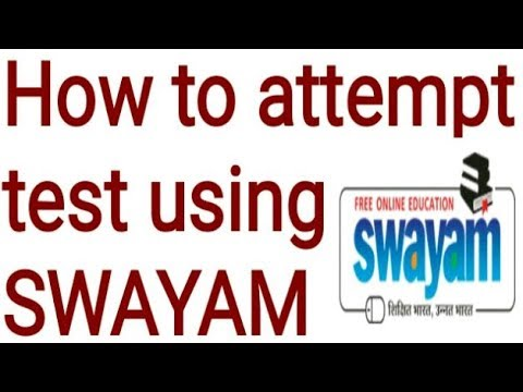 How to attempt test using SWAYAM D.el.ed Free/cheapest online एजुकेशन college degree courses by nios