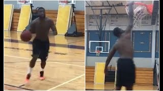 Gucci Mane Dunks Like A NBA Player Proves He Belongs In The League