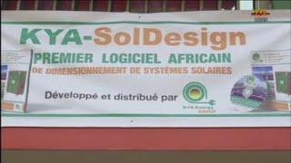 Publi-reportage de la TVT (Télévision Togolaise) sur le logiciel KYA-SolDesign