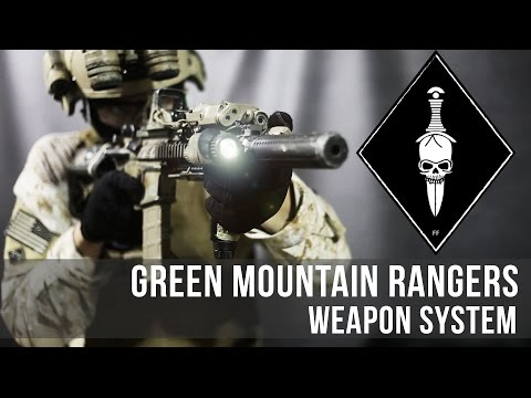 Green Mountain Rangers : Airsoft Gun - Primary Weapon - Systema PTW