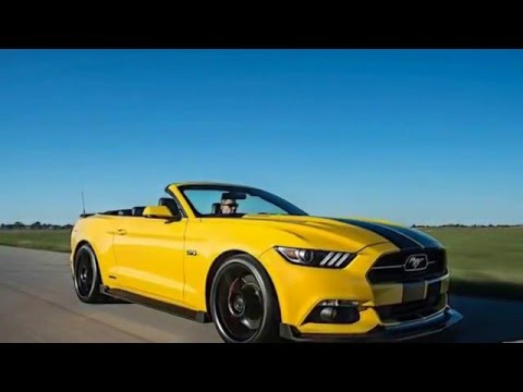 2017 ford mustang convertible hpe750 by hennessey limited. Black Bedroom Furniture Sets. Home Design Ideas