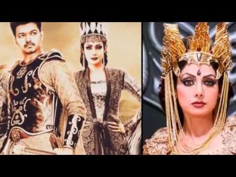 Hot news about puli  movie costume Vijay /sridevi/ sudeep/ Tamil Cinema News thumbnail