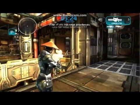 Shadowgun: Deadzone-- Snipe Lag Gameplay