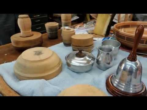 Metal Spinning Using Wood Turned Molds with Jim Kelley