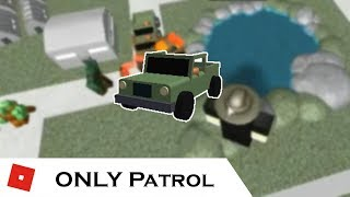 How far can You go with ONLY Patrol? | Tower battles [ROBLOX]