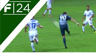 Thunderous volley from Bogdanov!